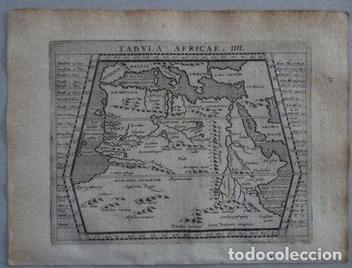 MAPA DEL NORTE Y CENTRO DE ÁFRICA, 1597.PTOLOMEO/MAGINI/KRESCHEDT (Arte - Cartografía Antigua (hasta S. XIX))