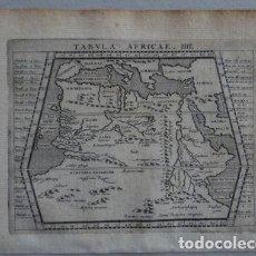 Arte: MAPA DEL NORTE Y CENTRO DE ÁFRICA, 1597.PTOLOMEO/MAGINI/KRESCHEDT. Lote 131388766