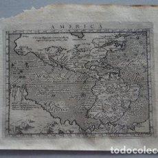 Arte: MAPA DE AMÉRICA DEL NORTE, CENTRAL Y SUR, 1597. PTOLOMEO/MAGINI/KESCHEDT. Lote 131628686