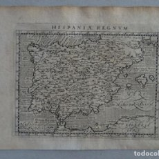 Arte: MAPA DE ESPAÑA Y PORTUGAL, 1597. PTOLOMEO/MAGINI/KESCHEDT. Lote 131633962