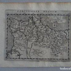 Arte: MAPA DE PORTUGAL, 1597. PTOLOMEO/MAGINI/KESCHEDT. Lote 131634106