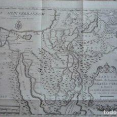 Arte: AÑO 1766. TABULA ITINERIS, & STATIONUM ISRAELITARUM IN DESERTO (ITINERARIO SEGUIDO POR EL PUEBLO DE. Lote 132950354