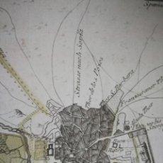 Arte: DIE GEGEND VON MADRID.VIENA,1791.FRANZ VON REILLY. VALLECAS, RETIRO,CHAMARTIN, CANILLEJAS, CATALINA. Lote 133825578