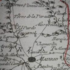 Arte: DIE PROVINZ VON MADRID.VIENA,1791.FRANZ VON REILLY.GETAFE,LEGANÉS, ALCALÁ, POZUELO ALARCÓN, MOSTOLES. Lote 133826270