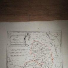 Arte: DER PROVINZ CUENCA NOERDLICHER THEIL.VIENA,1791.FRANZ VON REILLY. MOLINA, EMBID,PIQUERAS,VILLACANTA. Lote 133944510