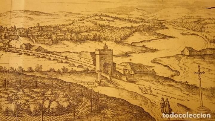 Arte: GRABADO ORIGINAL,PRIMER PLANO EN EL MUNDO DE BARCELONA Y ECIJA CIVITATES ORBIS TERRARUM,AÑO 1572 - Foto 26 - 134865138