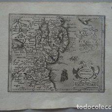 Arte: MAPA DE ULSTER (IRLANDA, EUROPA), 1609. MERCATOR/HONDIUS. Lote 134871210