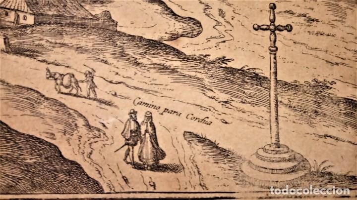 Arte: GRABADO ORIGINAL,PRIMER PLANO EN EL MUNDO DE BARCELONA Y ECIJA CIVITATES ORBIS TERRARUM,AÑO 1572 - Foto 12 - 134865138