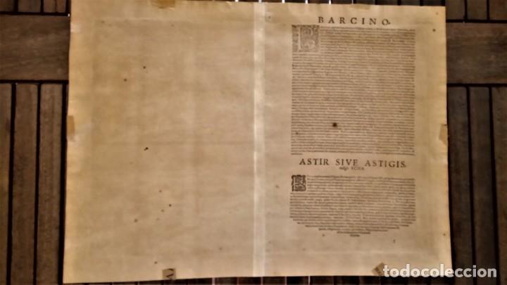 Arte: GRABADO ORIGINAL,PRIMER PLANO EN EL MUNDO DE BARCELONA Y ECIJA CIVITATES ORBIS TERRARUM,AÑO 1572 - Foto 19 - 134865138