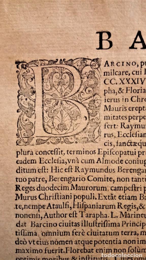 Arte: GRABADO ORIGINAL,PRIMER PLANO EN EL MUNDO DE BARCELONA Y ECIJA CIVITATES ORBIS TERRARUM,AÑO 1572 - Foto 18 - 134865138