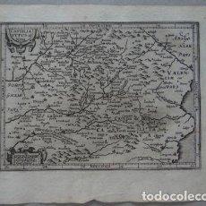Arte: MAPA DE CASTILLA Y VALENCIA(ESPAÑA), 1609.MERCATOR/HONDIUS. Lote 135053830
