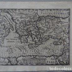 Arte: MAPA DEL MAR MEDITERRÁNEO ORIENTAL (EUROPA, ÁFRICA Y ASIA), 1609. MERCATOR/HONDIUS. Lote 135061110
