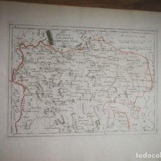 Arte: DER PROVINZ SALAMANCA NORDLICHER THEIL.VIENA,1791.FRANZ VON REILLY.VILLAR,SALVATIERRA,GUIJUELO, TUTA. Lote 135330990