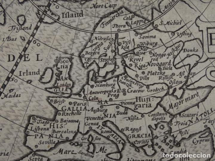 Arte: Antiguo mapa de Europa, 1606. Bertius - Foto 7 - 135354402