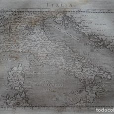 Arte: MAPA DE ITALIA (EUROPA), 1620. CLAUDIO PTOLOMEO/GALIGNANI. Lote 135717963