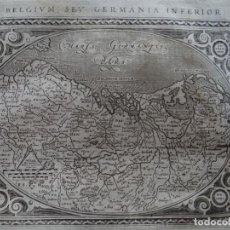 Arte: MAPA DE LOS PAÍSES BAJOS (BÉLGICA, EUROPA), 1620. PTOLOMEO /GAIGNANI. Lote 135720419