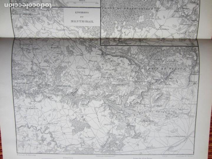 1866 Environs De Montereal Brienne Montmirail Buy Antique