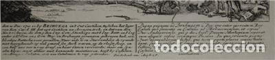 Arte: Mapa de la batalla de Brihuega, Guadalajara (España), 1720. P. Schenk/Valk - Foto 3 - 136201162