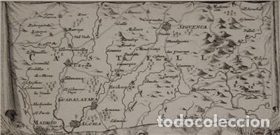 Arte: Mapa de la batalla de Brihuega, Guadalajara (España), 1720. P. Schenk/Valk - Foto 5 - 136201162