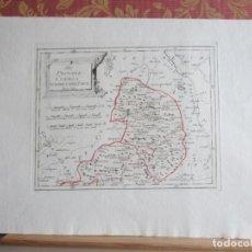 Arte: 1789-MAPA CUENCA.TORRETE.HINOJOSA.TURZO.BETETA.MOLINA.PRADOS.GUISEMA.ARANDILLA.MORENILLA.TORRUBIA.. Lote 136210394
