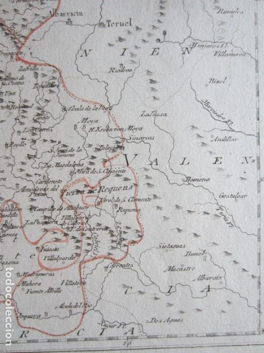 Arte: 1789-MAPA CUENCA.SOLERA.TARAZONA.HUETE.ZAFRILLA.ZAHOREJAS.BEAMUD.ALMONACID.FUENTES.ALBILLA.TRAGACETE - Foto 4 - 136210842