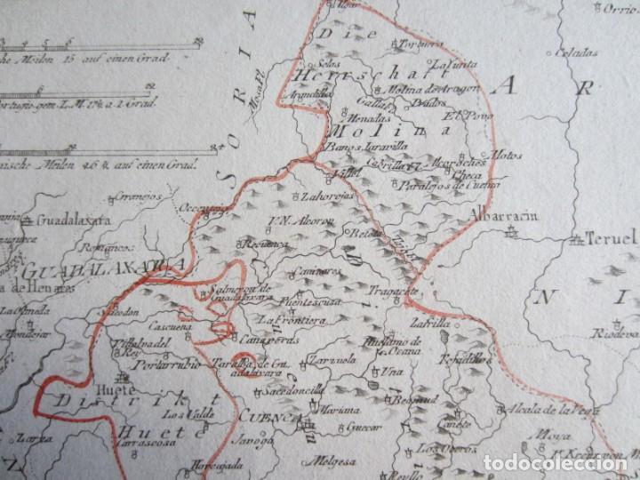 Arte: 1789-MAPA CUENCA.SOLERA.TARAZONA.HUETE.ZAFRILLA.ZAHOREJAS.BEAMUD.ALMONACID.FUENTES.ALBILLA.TRAGACETE - Foto 5 - 136210842