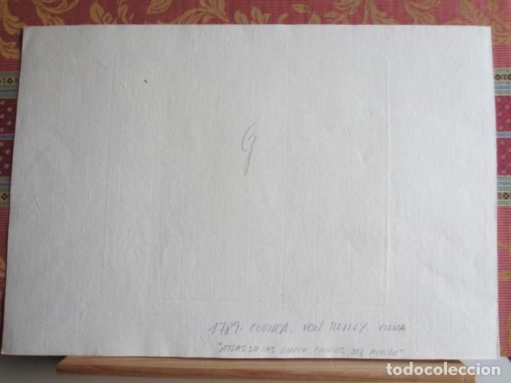 Arte: 1789-MAPA CUENCA.SOLERA.TARAZONA.HUETE.ZAFRILLA.ZAHOREJAS.BEAMUD.ALMONACID.FUENTES.ALBILLA.TRAGACETE - Foto 6 - 136210842