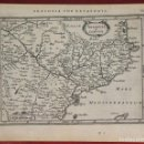 Arte: MAPA DE ARAGÓN, CATALUÑA Y VALENCIA (ESPAÑA), 1640. MERCATOR/HONDIUS/JANSONIUS. Lote 136255278