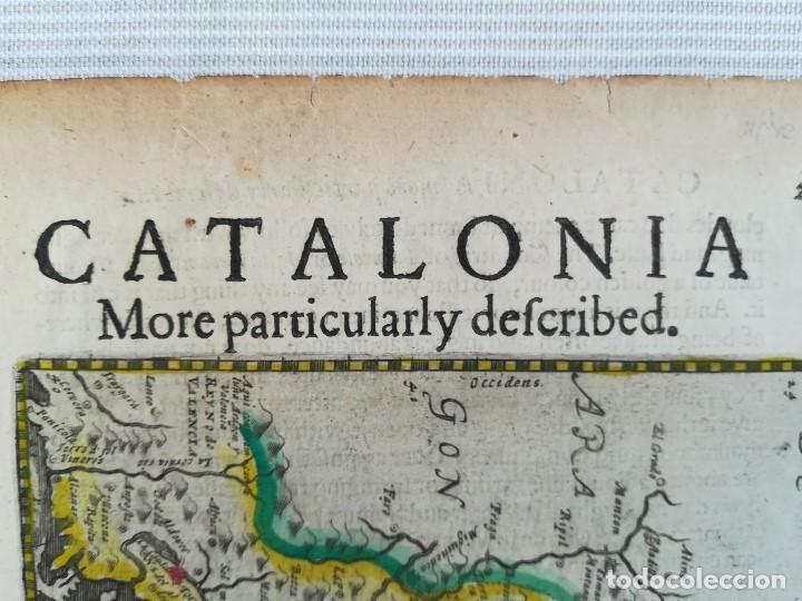 MAPA DE CATALUNYA - MERCATOR - AÑO 1635 (Arte - Cartografía Antigua (hasta S. XIX))