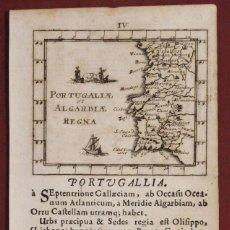 Arte: MAPA DE PORTUGAL (EUROPA), 1692. JOHAN ULRICH MÜLLER/KUHNEN/BODENEHR. Lote 136359070