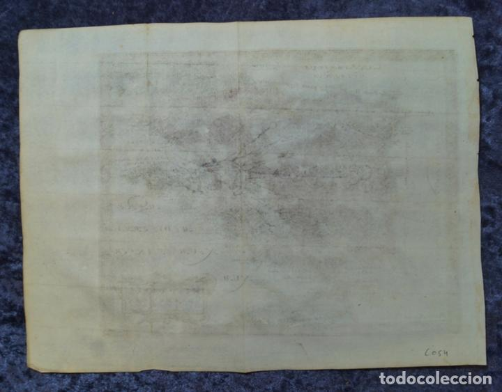 Arte: Mapa de España y Portugal antiguos, 1676. Kaerius/ Cluver/ Jansonius - Foto 7 - 136409518