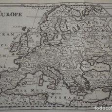 Arte: MAPA DE EUROPA, 1738. BOSSUET. Lote 136412370