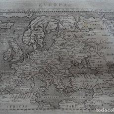 Arte: MAPA DE EUROPA, 1620. PTOLOMEO/GALIGNANI. Lote 136423294
