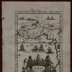 Arte: ÁFRICA OCCIDENTAL Y GOLFO DE GUINEA (ÁFRICA), 1719. MALLET. Lote 136455446