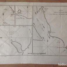 Arte: MAPA DEL ESTRECHO DE MAGALLANES (ARGENTINA, CHILE, AMÉRICA DEL SUR), 1774. JAMES COOK/PANCKOCKE. Lote 136756510