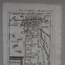 Arte: MAPA DEL ANTIGUO EGIPTO (ÁFRICA), 120. MALLET. Lote 137125618