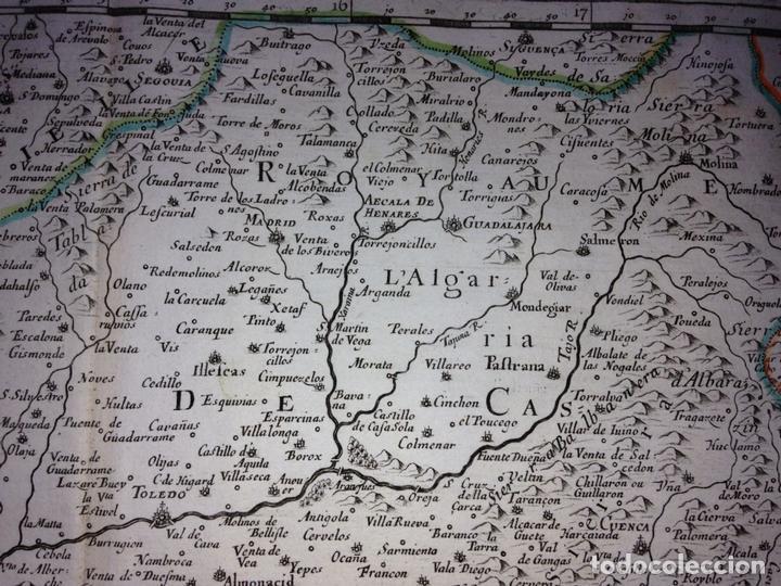 Arte: Gran mapa de Andalucía, Murcia, Valencia, Castilla..(España),1652. Nicolás Sanson/Mariette - Foto 11 - 137805086