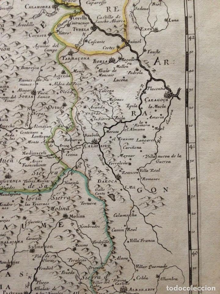 Arte: Gran mapa de Galicia, Asturias, Cantabria, País Vasco... (España)1652. Nicolás Sanson/Mariette - Foto 5 - 137805938