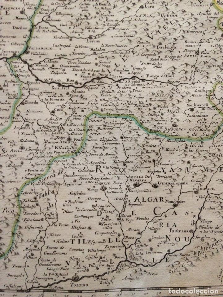 Arte: Gran mapa de Galicia, Asturias, Cantabria, País Vasco... (España)1652. Nicolás Sanson/Mariette - Foto 6 - 137805938