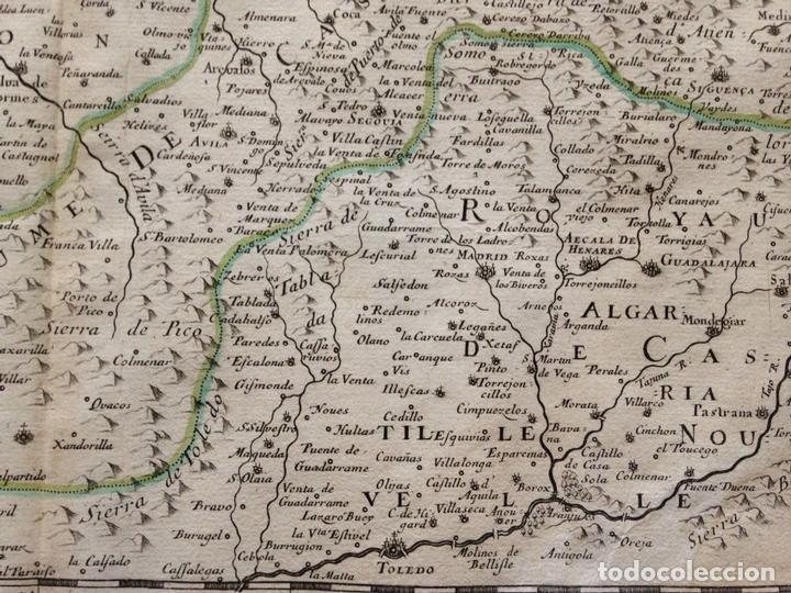 Arte: Gran mapa de Galicia, Asturias, Cantabria, País Vasco... (España)1652. Nicolás Sanson/Mariette - Foto 10 - 137805938