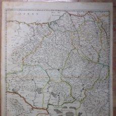 Arte: GRAN MAPA DEL REINO DE NAVARRA Y GUIPÚZCOA, PAIS VASCO (ESPAÑA), 1652. NICOLÁS SANSON/MARIETTE. Lote 137807398