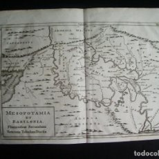 Arte: 1740-MESOPOTAMIA.BABILONIA.BABYLON.ARMENIA.ARABIA.SIRIA.CAPADOCIA MAPA ORIGINAL. Lote 233138015