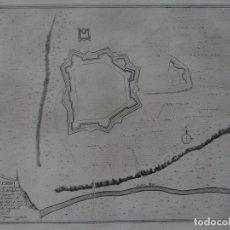 Arte: MAPA DE LA FORTALEZA DE PUIGCERDÁ EN GERONA (CATALUÑA, ESPAÑA), 1695. NICOLÁS DE FER. Lote 139477466