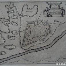 Arte: MAPA DE LA CIUDAD DE FUENTERRABÍA (GUIPUZCOA, ESPAÑA), 1695. NICOLÁS DE FER. Lote 139477726