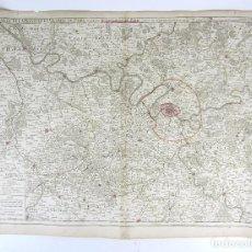 Arte: CARTE DE LA PREVOSTÉ ET VICOMPTE DE PARÍS. - 1782, 53X73 CM.. Lote 139520402