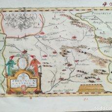 Arte: MAPA DE CASTILLA - MONTECALERIO - AÑO 1649 - ES ORIGINAL. Lote 139610690