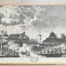 Arte: ASEDIO VALENCIA POR LOS FRANCESES - 28 DE JUNIO DE 1808 - GUERRA DE LA INDEPENDENCIA O DEL FRANCES. Lote 140076482