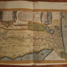 Arte: MAPA DE ORTELIUS - AEGYPTUS ANTIQUA (1595). Lote 140648038