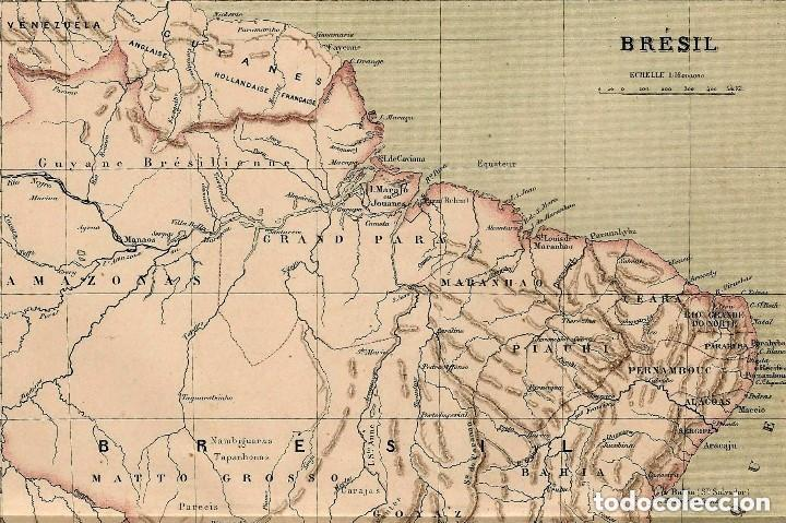 1890 brasil - amazonia - sudamerica - america - Kaufen Alte ...