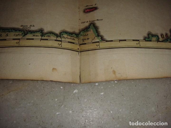 Arte: Mapa Grabado de España y Portugal. 1680. VISSCHER NICOLAS. Hispania et Portugalliae Regna. - Foto 5 - 140758750